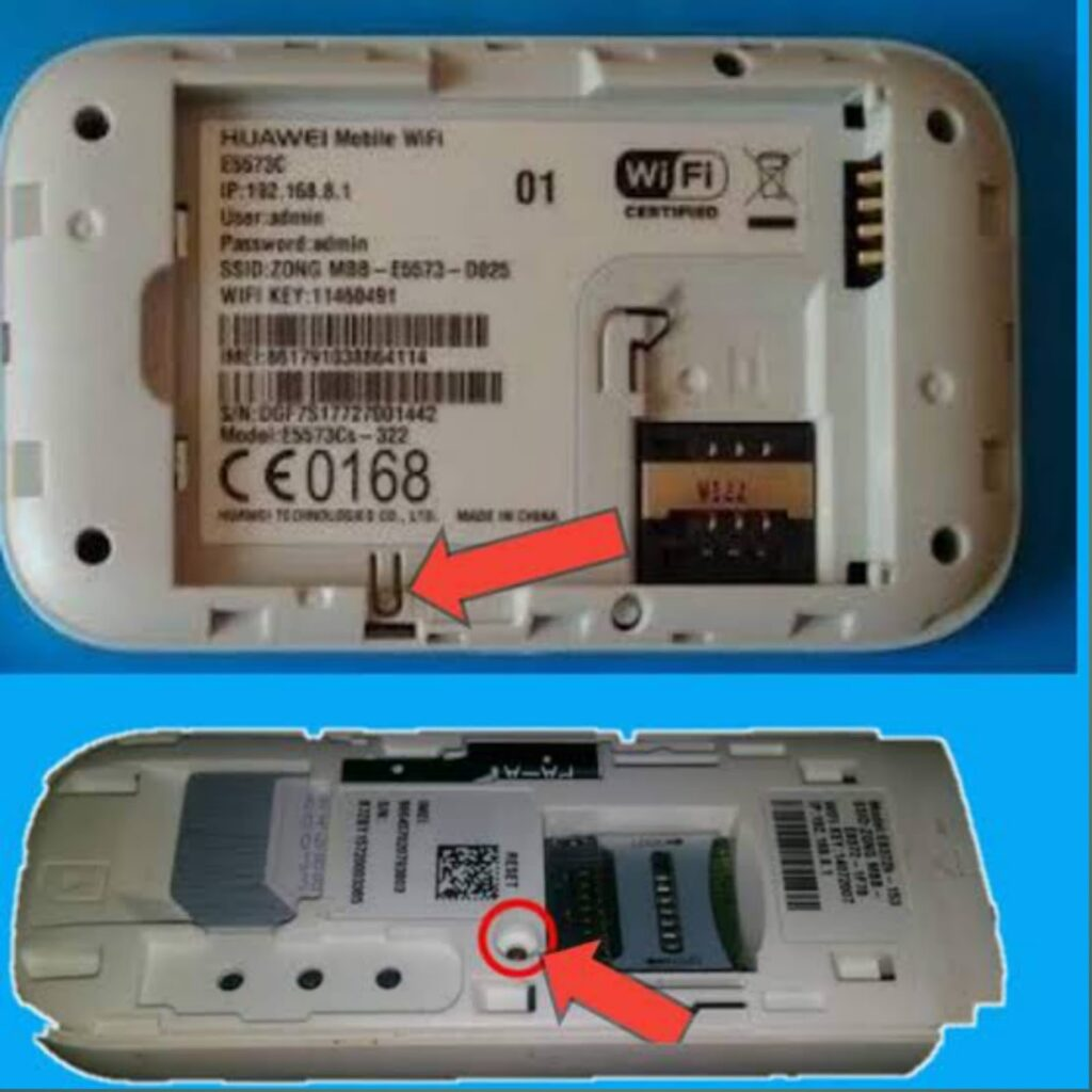 How to reset Zong 4G device password 2021